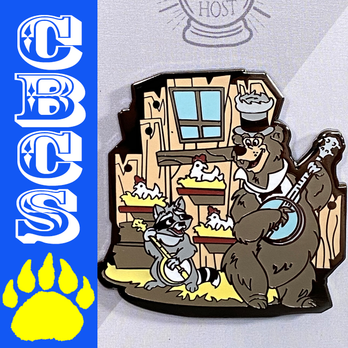 Artwork for 2021 Country Bears At Home Pin Set by @YourGhostHostDesign - CBCS 312