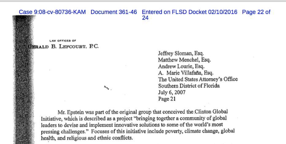 Jeffrey Epstein Plea Negotiation Letter To U.S. Attorney