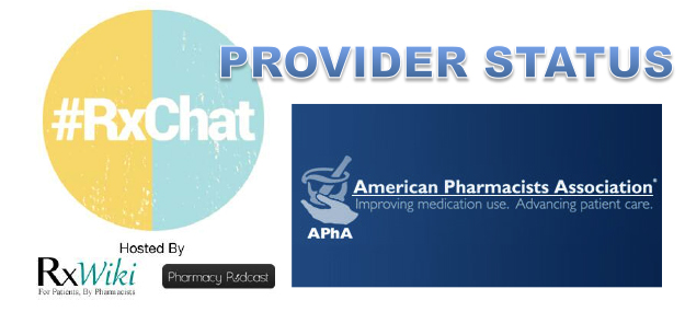 Pharmacy Podcast Episode 136 - #RxChat Pharmacist Provider Status