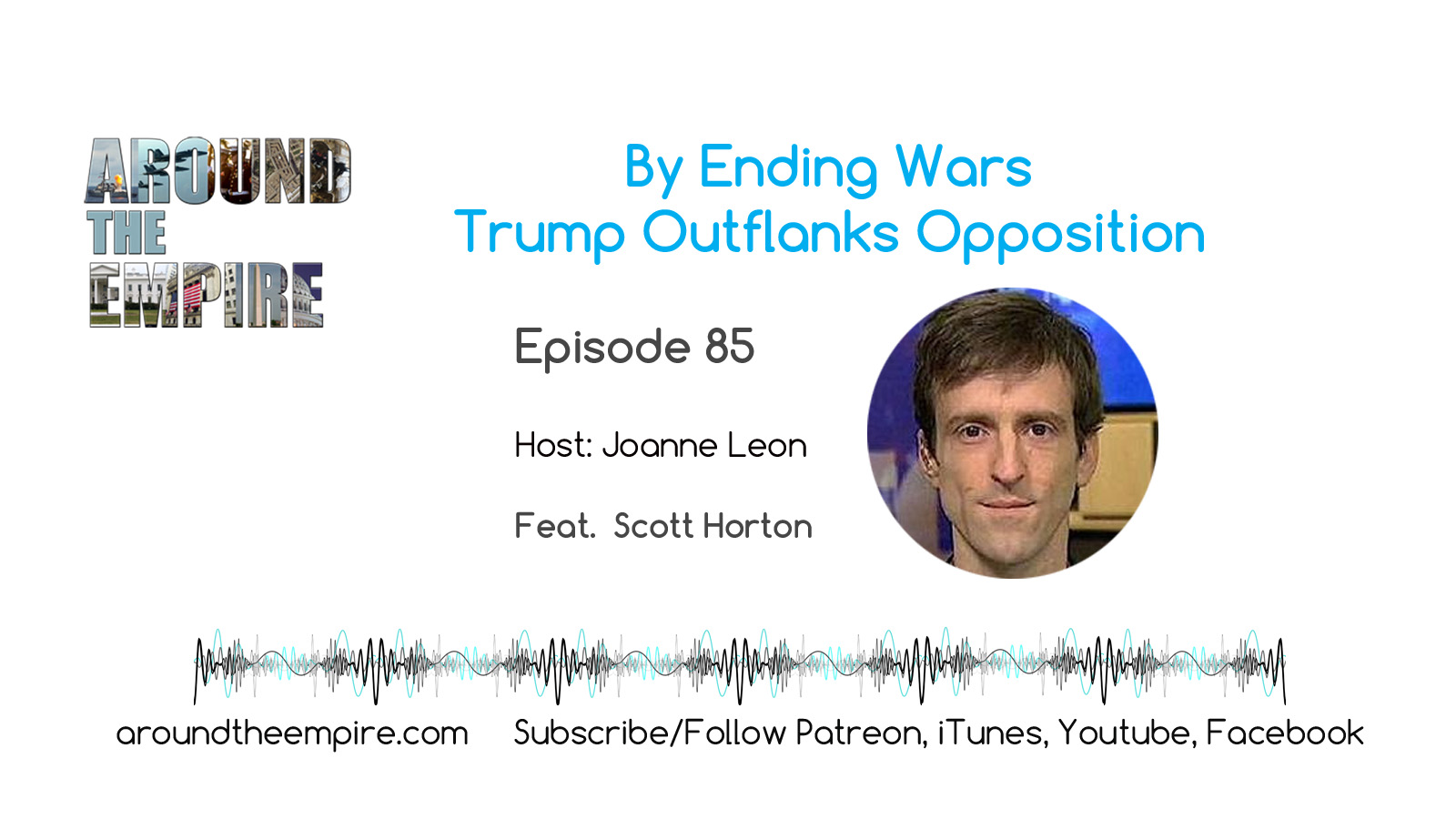 Ep85 Ending Wars Trump Outflanks Opposition feat Scott Horton