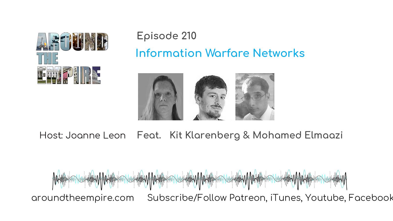 Ep 210 Information Warfare Networks feat Kit Klarenberg & Mohamed Elmaazi