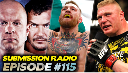 Submission Radio #115 Max Holloway, Robert Whittaker, Coach Wink, Jeremy Botter