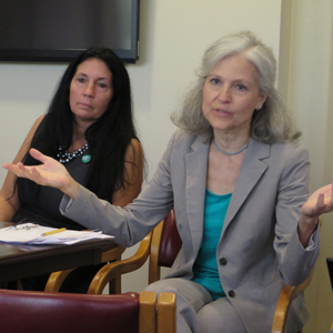 Jill Stein at the Green Party National Meeting