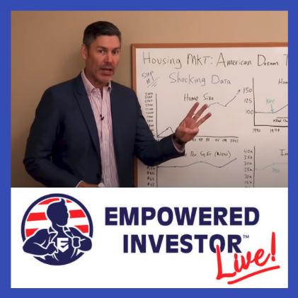 George Gammon Speaking at Empowered Investor LIVE show art