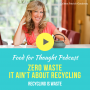 Artwork for Zero Waste: It Ain't About Recycling (REBROADCAST)