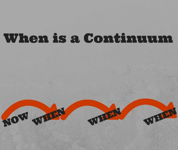 When is a continuum