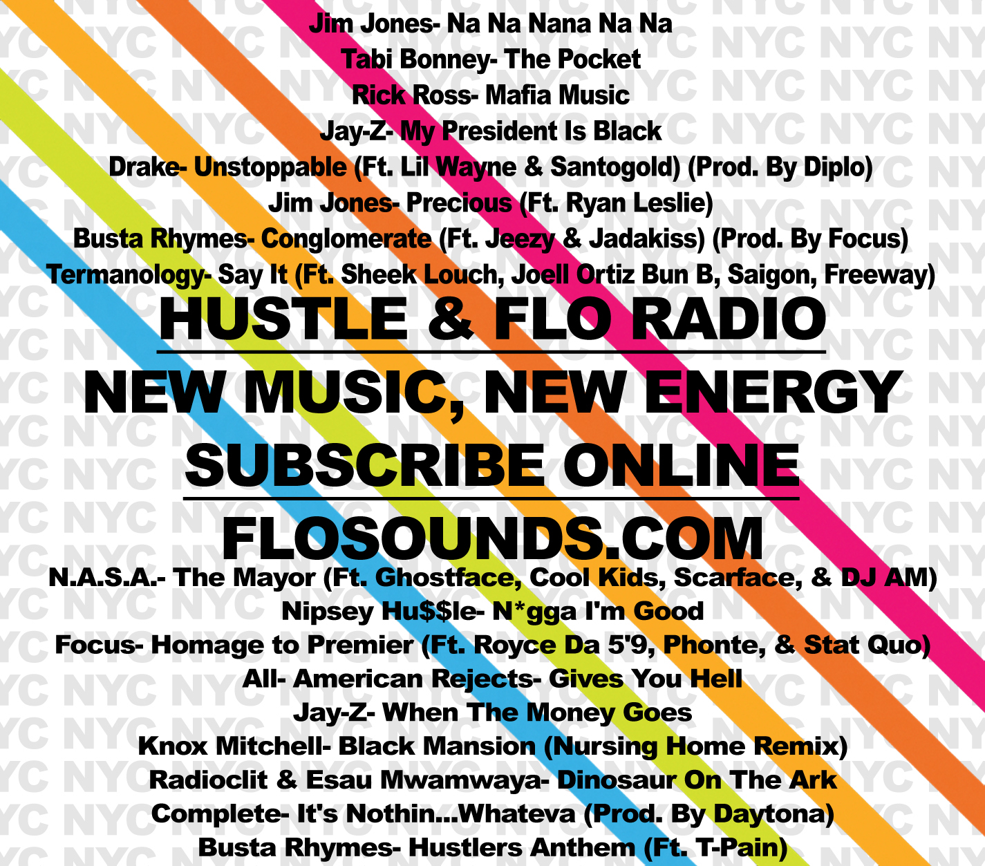 Hustle & FLO Podcast Radio- 2nd Ed. (01.29.2009)