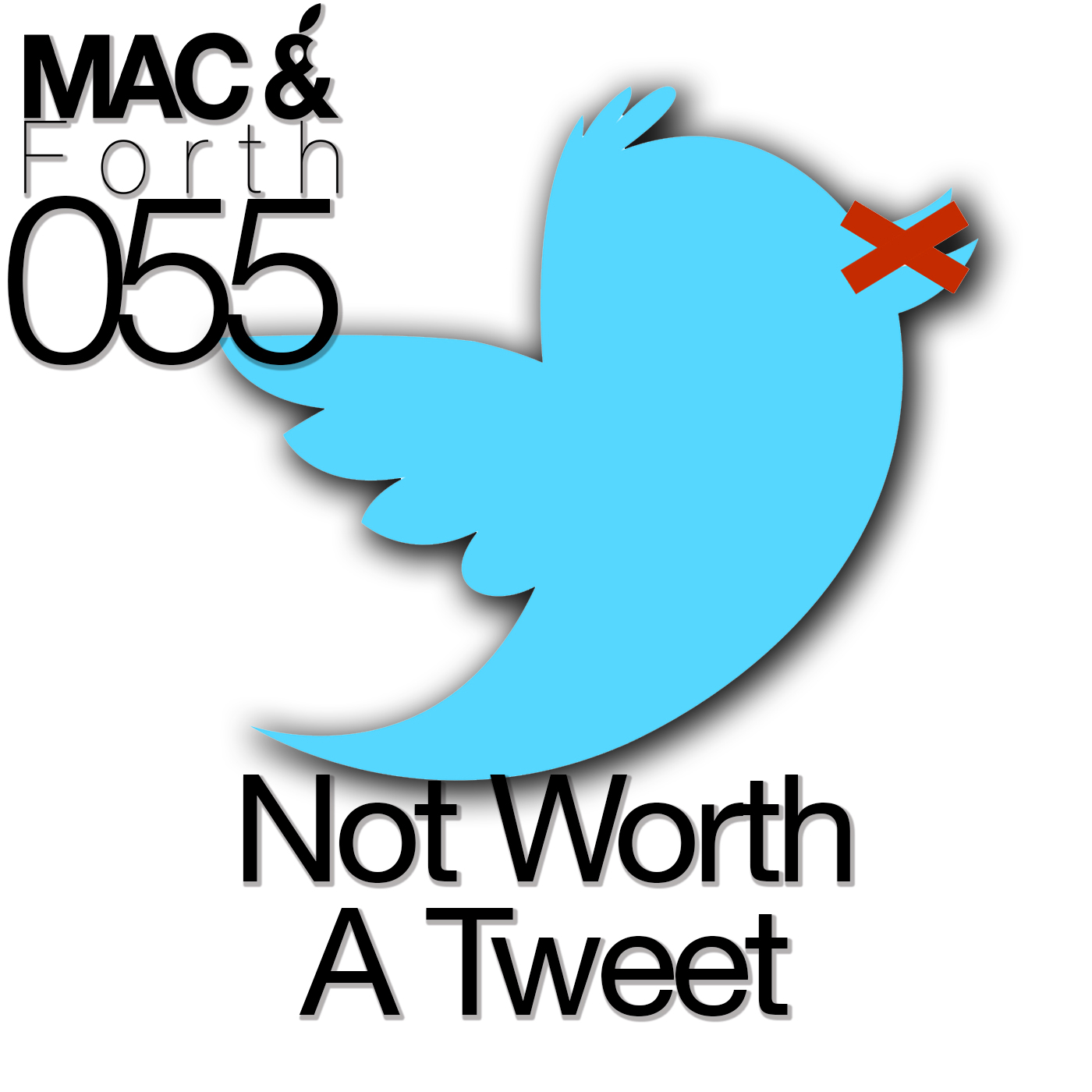 The Mac & Forth Show 055 - Not Worth A Tweet
