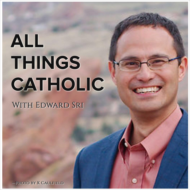 All Things Catholic by Edward Sri logo