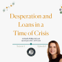 Artwork for 1: Desperation and Loans in a Time of Crisis