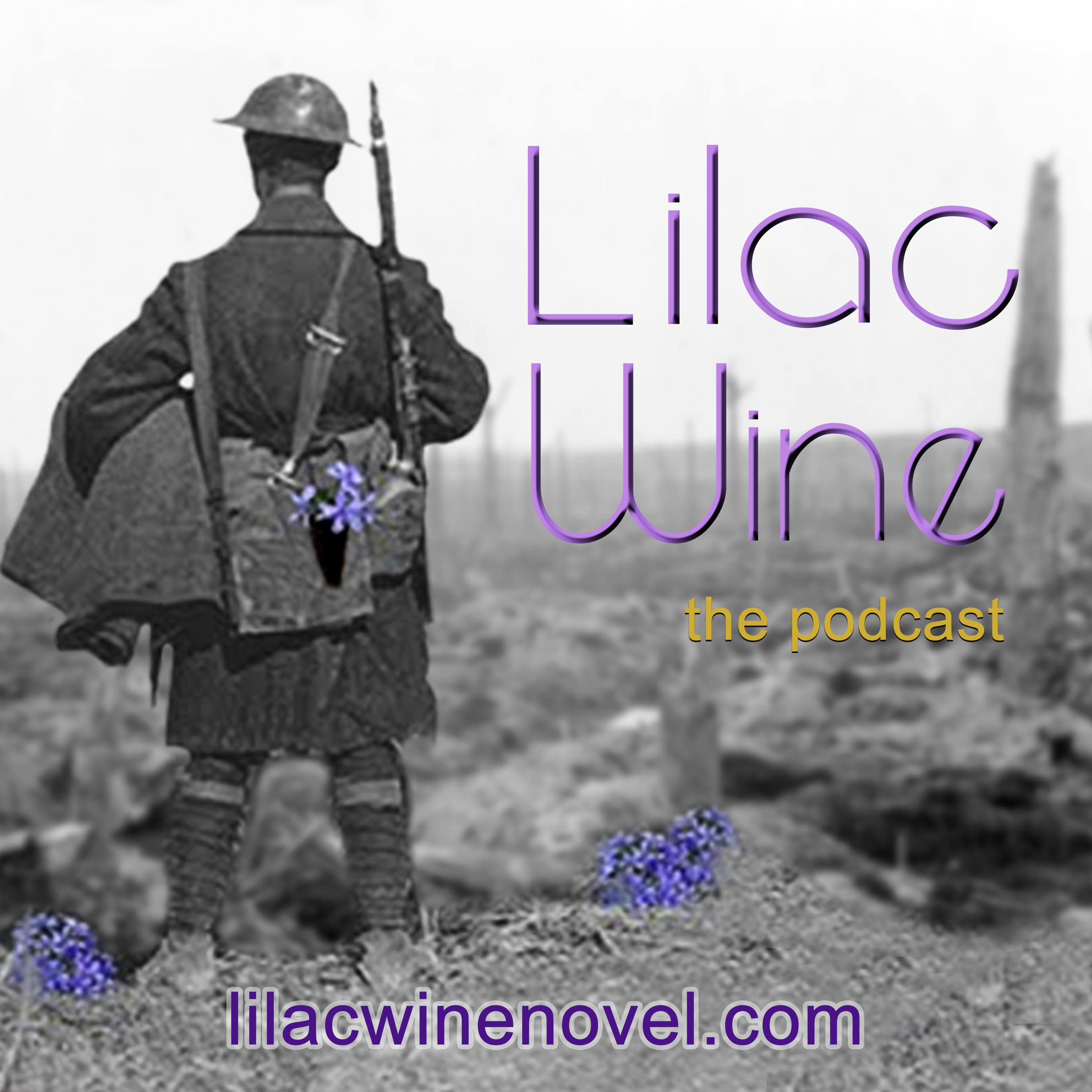 Lilac Wine - The Podcast show art