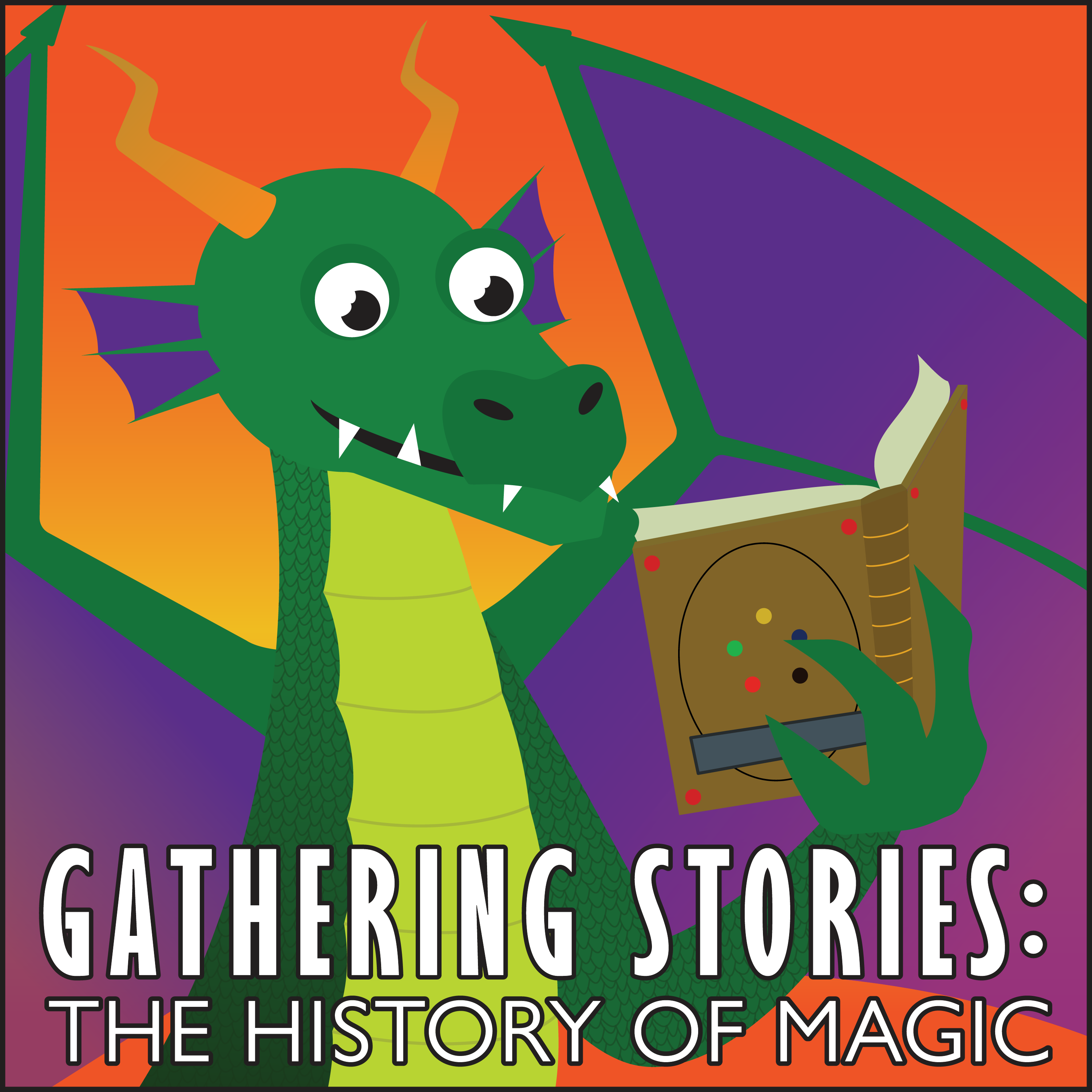 Gathering Stories: The History of Magic show art