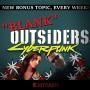 Artwork for BLANK Outsiders - Lore (Cyberpunk 2077)
