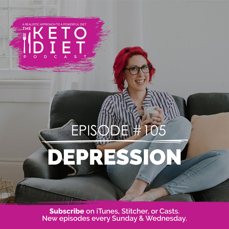 #105 Depression with Carrie Brown