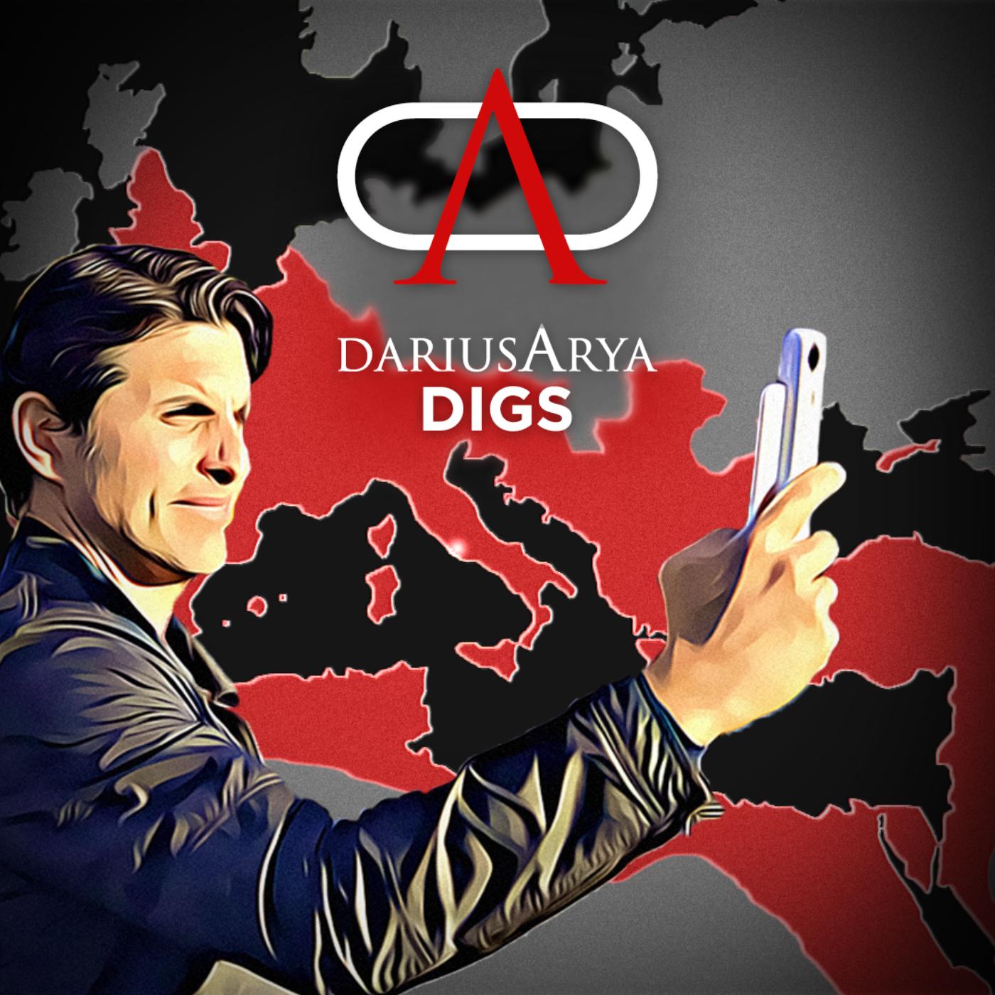 Rome & Empire with Darius Arya Digs show art