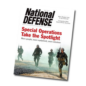 Artwork for Growth of Special Operations Command - May 2012