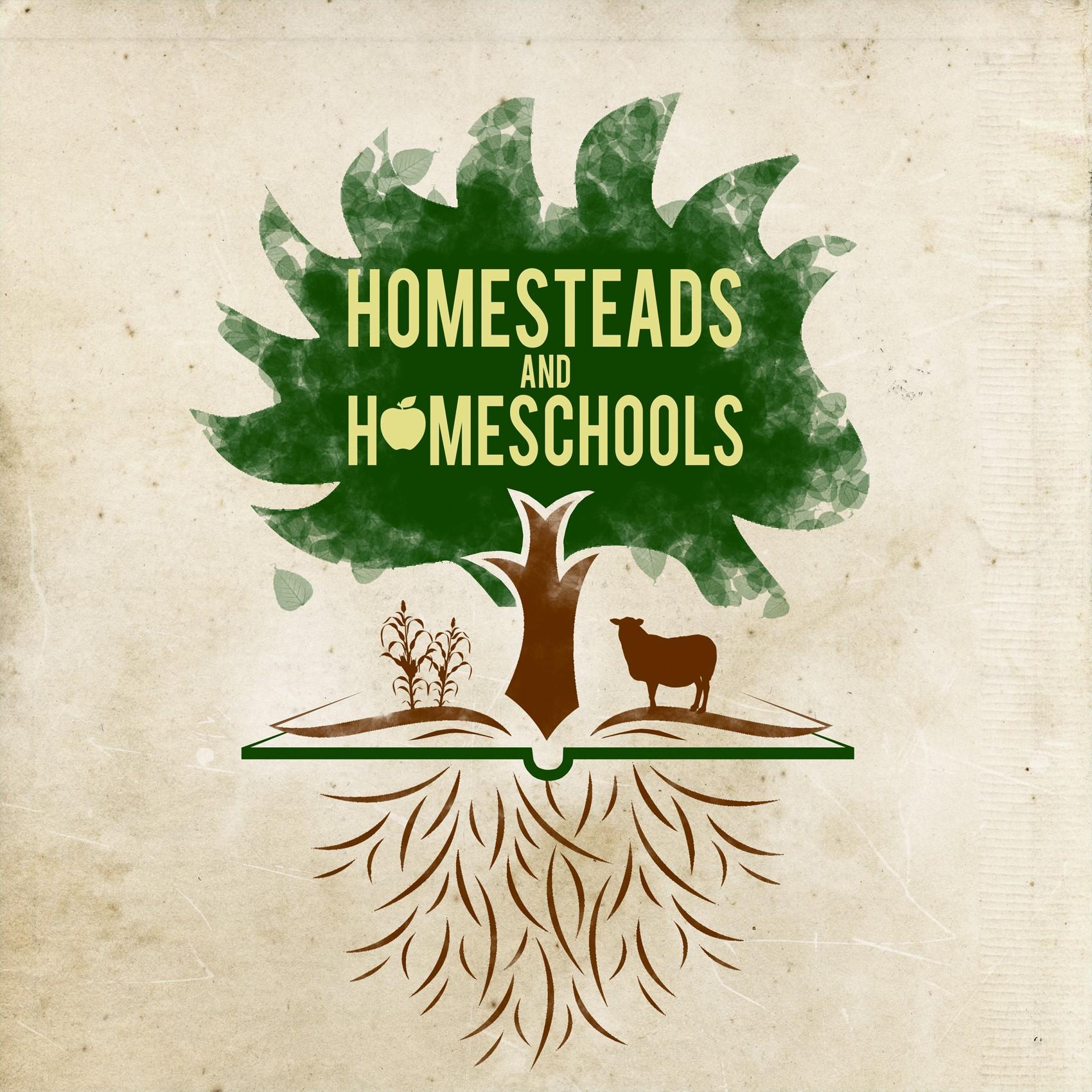 Homesteads and Homeschools show art