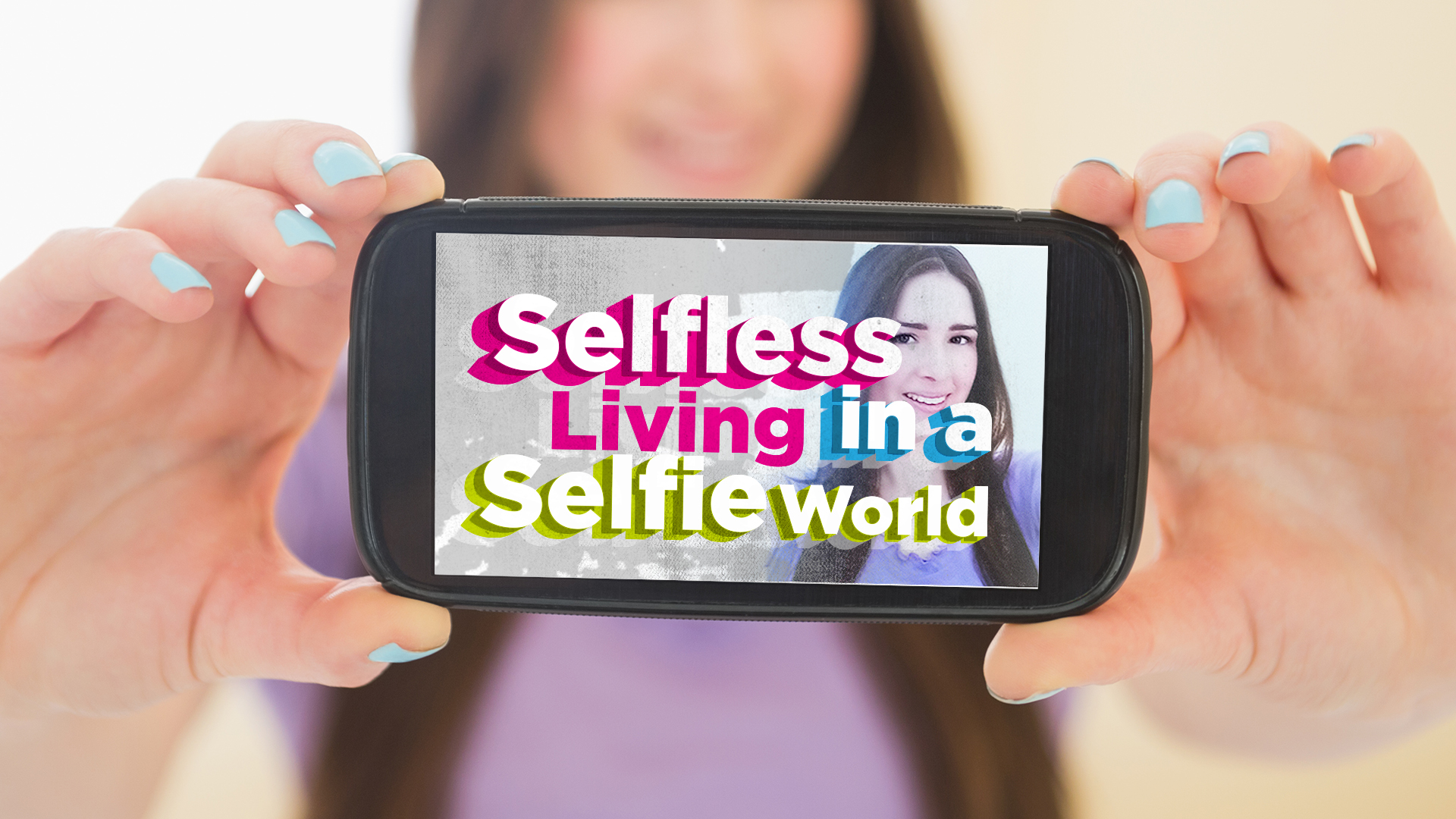 Artwork for Selfless Living in a Selfie World: What is Your Name Pastor Robert Brosher 8-16-15