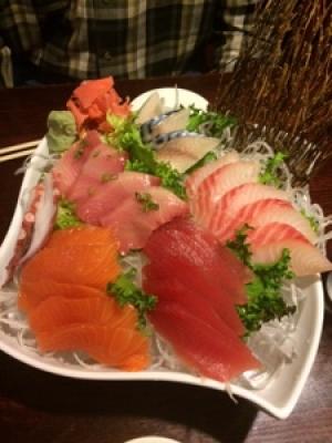 Sushi or sashimi?