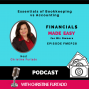 Artwork for FMEP28 - Essentials Of Bookkeeping VS Accounting With Christine Furtado