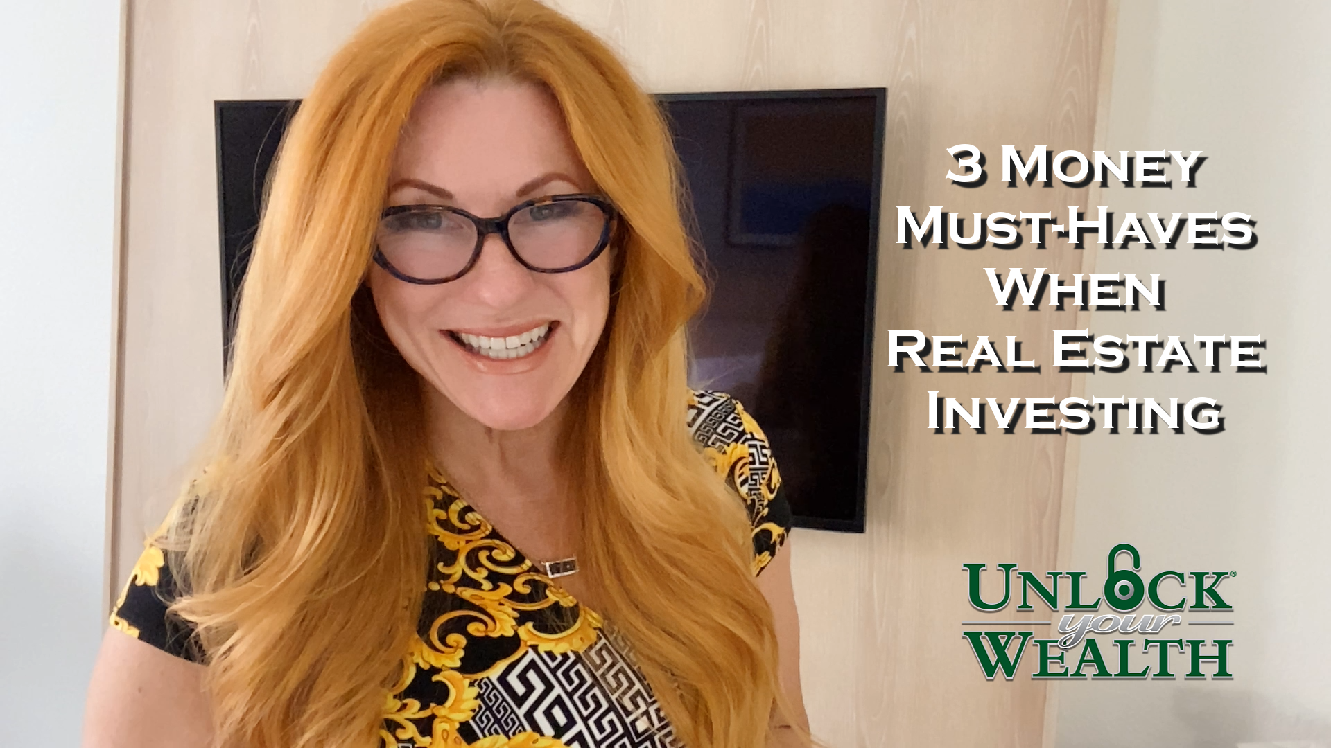 3 Money Money Must-Haves When Real Estate Investing  show art