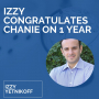 Artwork for Izzy Congratulates Chanie on 1 Year