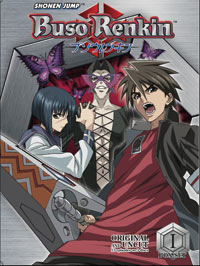 Episode 101: Buso Renkin Box Set 1, Disc 1: Episodes 1-4