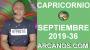 Artwork for HOROSCOPO CAPRICORNIO - Semana 2019-36 Del 1 al 7 de septiembre de 2019 - ARCANOS.COM...