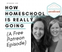Artwork for 145: How Homeschool is REALLY Going (A FREE Patreon Episode)