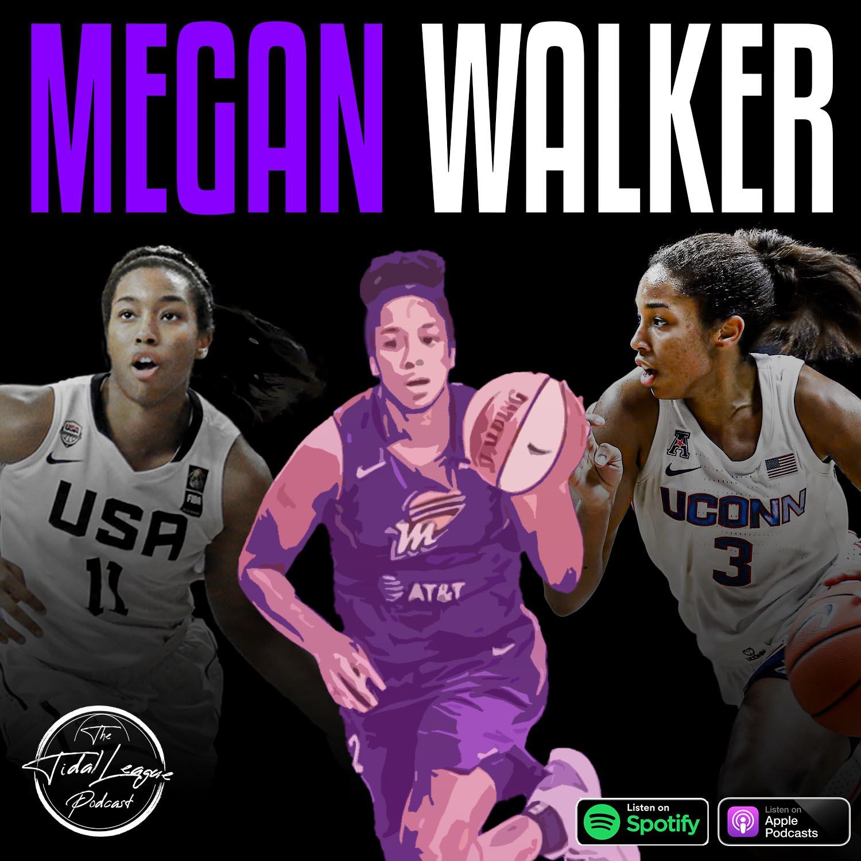Megan Walker of the Phoenix Mercury