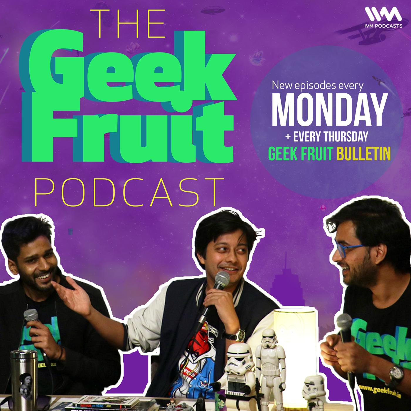 Geek Fruit Podcast show art