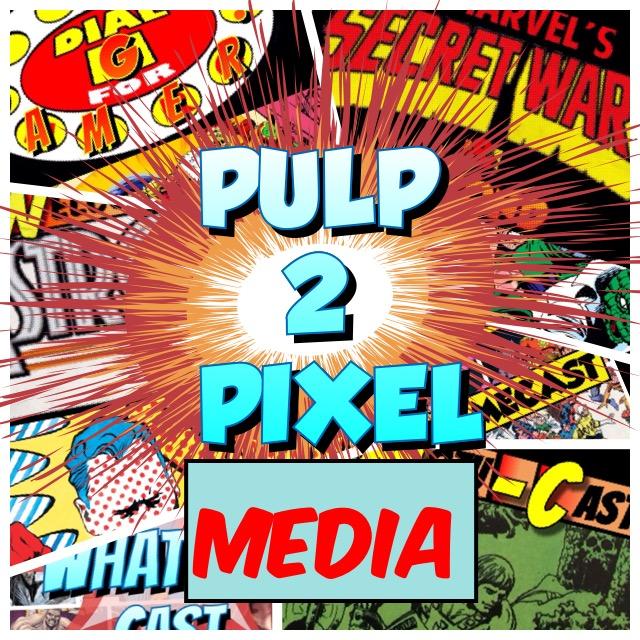 Pulp 2 Pixel Podcasts show art