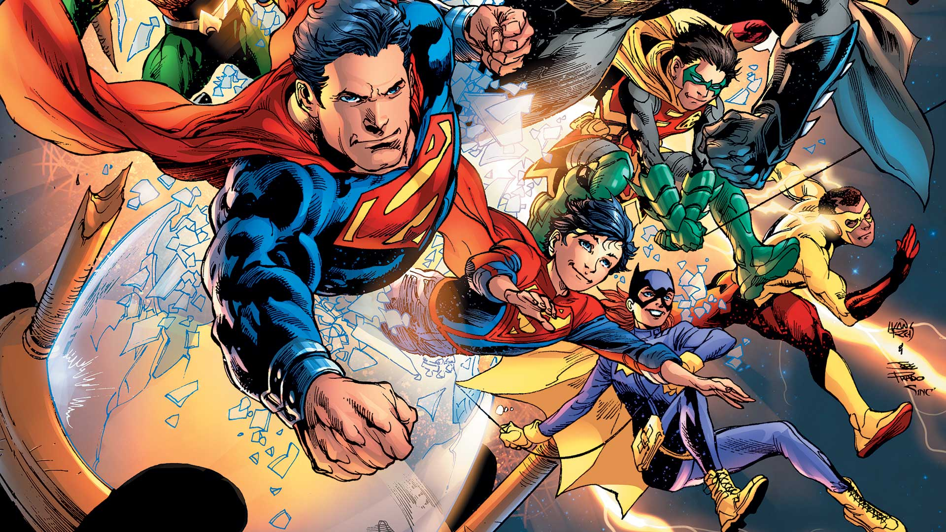 Comic Book Bears Podcast Issue #101 - (Mostly) DC Rebirth
