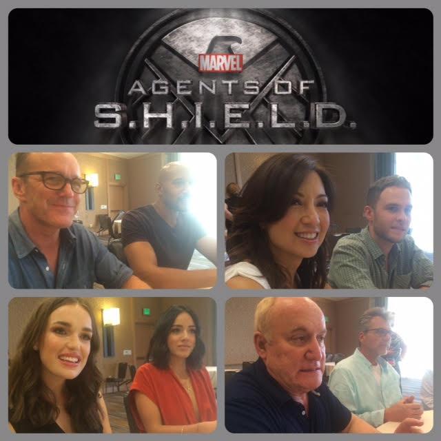 Episode 708 - SDCC: Agents of S.H.I.E.L.D. w/ Chloe Bennett/Elizabeth Henstridge/Clark Gregg/Henry Simmons/Ming-Na Wen/Iain De Caestecker/ Producers Jeph Loeb/Jeff Bell!