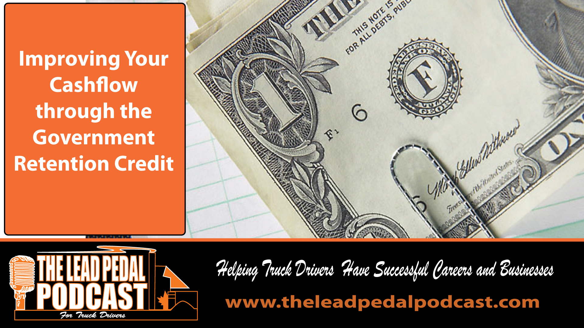 LP617 Improving Cash Flow With Government Programs for Truckers With Mason Warr