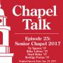 Artwork for #25: Senior Chapel 2017