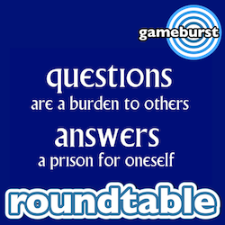 Artwork for GameBurst Roundtable - Question Time Jan 2016
