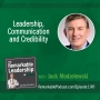 Artwork for Leadership, Communication and Credibility with Jack Modzelewski