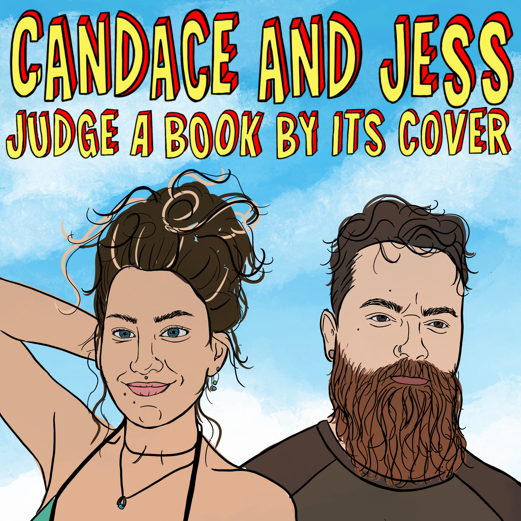 Candace and Jess Judge A Book by its Cover