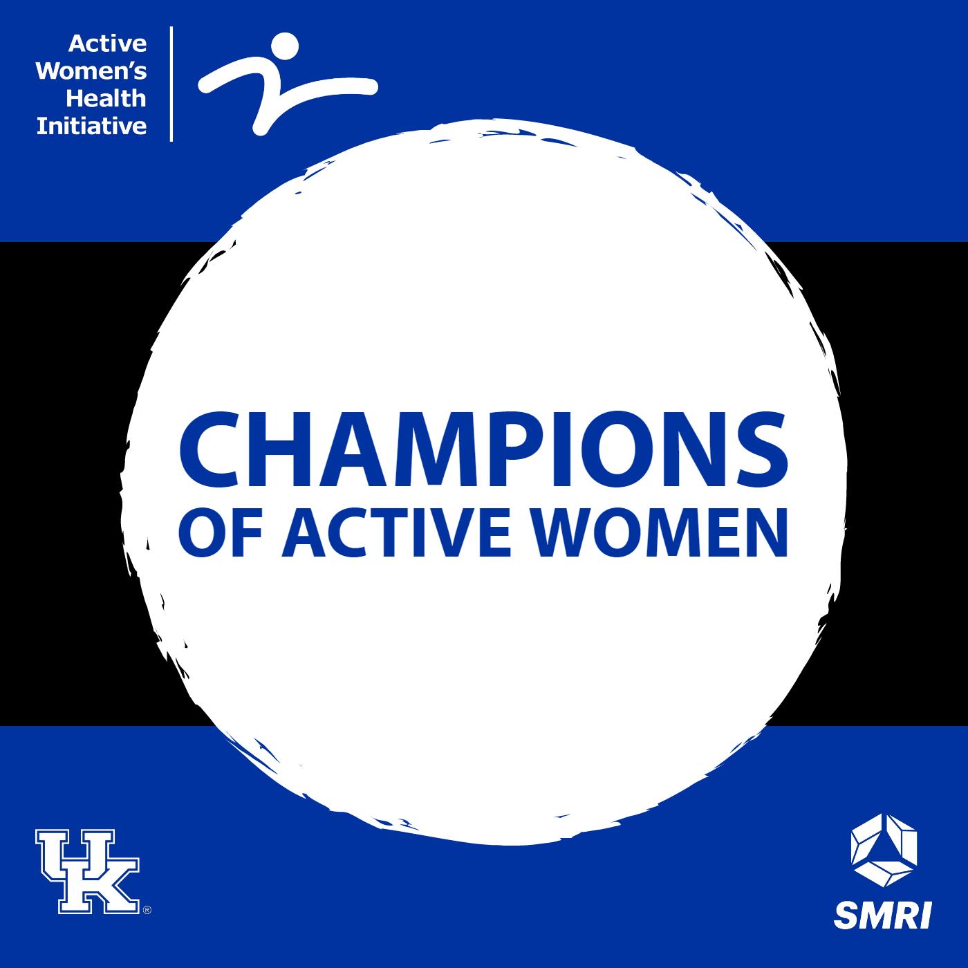 Champions of Active Women show art