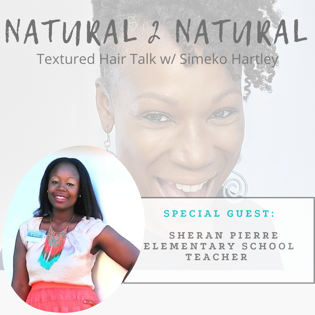 Episode # 4 - Her Hair-Story w/ Sheran Pierre show art