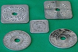 134-131010 In the Treasure Corner - Tax Tokens