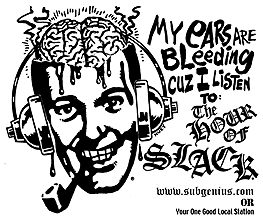 Hour of Slack #1197 -- Live with Bishop Joey, 1st Church of the Last Laugh - 2009-03-22