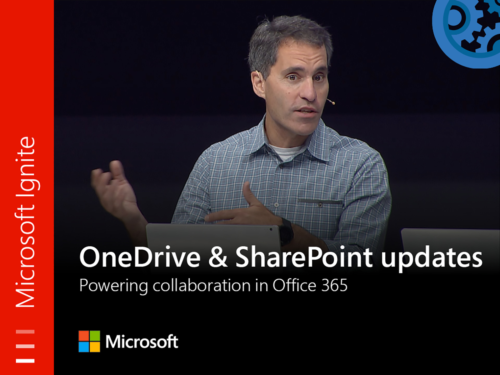 Artwork for OneDrive and SharePoint updates powering collaboration in Office 365 with CVP Jeff Teper