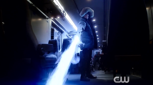 Crimson Comet #4 The Flash 1x04 Going Rogue