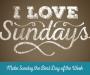 Artwork for I Love Sundays - Sundays Can Change Your Future
