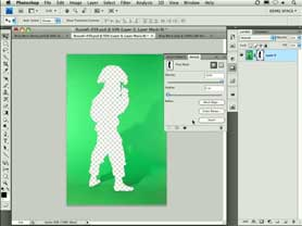 Masking in Photoshop CS4