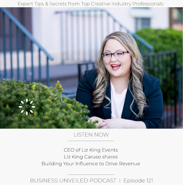 Artwork for #121: Building Your Influence to Drive Revenue with Liz King Caruso