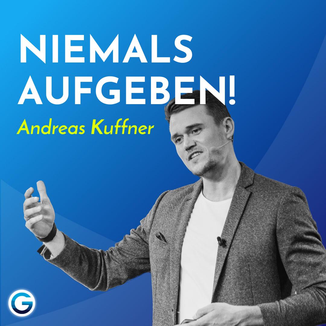 Entscheidungen treffen: So erreichst du deine Ziele trotz Rückschlägen // Andreas Kuffner