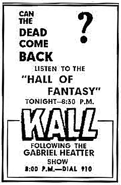 227-140922 In the Old-Time Radio Corner - The Hall of Fantasy